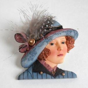 Women of the Titanic Pin/Brooch - Kate Brady